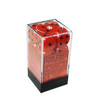 Chessex 12 Orange w/black Opaque 16mm D6 Dice Block - CHX25603 (₱349) Before - NOW ₱295