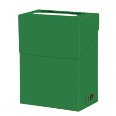 Ultra Pro - Deck Box  SOLID GREEN ₱150