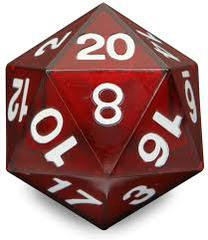 Opaque: 55mm D20 Countdown red/White Php495
