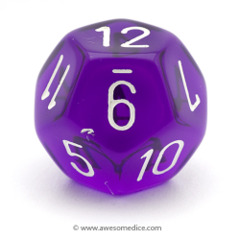 Assorted Chessex D12 Dice (₱50)