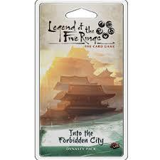 Legend of the 5 Rings Dynasty Pack - Into the Forbidden City - P 750