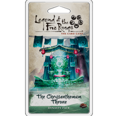 Legend of the 5 Rings Dynasty Pack - The Chrysanthemum Throne - P 750