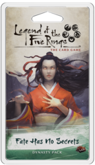 Legend of the 5 Rings Dynasty Pack - Fate Has No Secrets -P 750