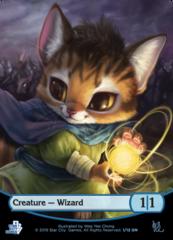 Creature - Wizard Token (Game Night)