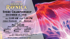 Guilds of Ravnica Store Championship Entry ₱500