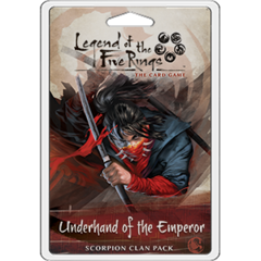 Legend of the 5 Rings Dynasty Pack - Underhand of the Emperor -P 1200