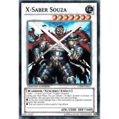 X-Saber Souza - CT09-EN017 - Super Rare - Limited Edition on Channel Fireball
