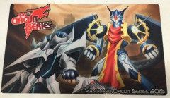 ARG Circuit Series Vanguard Circuit Series 2015 Commemorative Playmat on Channel Fireball