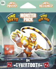 King of Tokyo - Monster Pack #4 Cybertooth