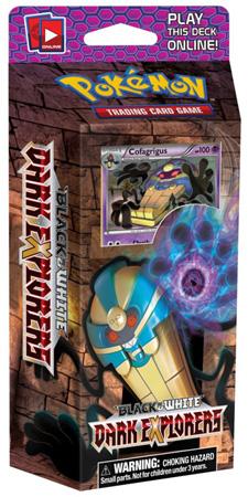 Pokemon Dark Explorers Cofagrigus Raiders Theme Deck