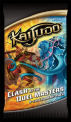 Clash of the Duel Masters Kaijudo Booster PACK on Channel Fireball