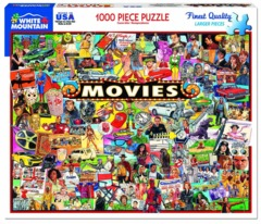 The Movies (1338pz) - 1000 Piece Jigsaw Puzzle on Channel Fireball