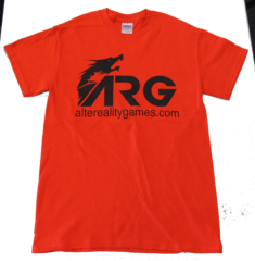 ARG Safety Orange T-Shirt on Channel Fireball