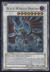 Black-Winged Dragon TSHD-EN040 - Ultimate Rare - Unlimited