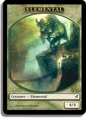 Elemental (Green) - Lorwyn Token on Channel Fireball