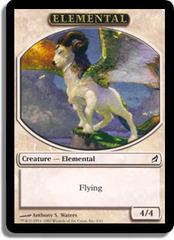 Elemental (White)- Lorwyn Token on Channel Fireball