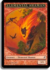 Elemental Shaman - Lorwyn Token on Channel Fireball