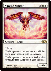Angelic Arbiter on Channel Fireball