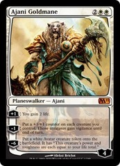 Ajani Goldmane on Channel Fireball