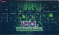 Yugioh Extravaganza Green Playmat