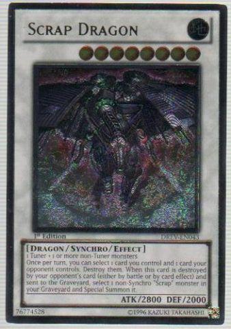 Scrap Dragon - Ultimate - DREV-EN043 - Ultimate Rare - 1st Edition