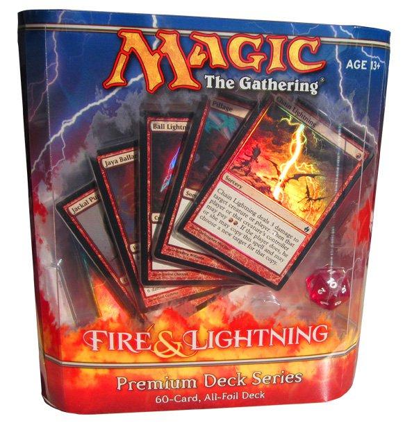 Fire & Lightning Premium Deck