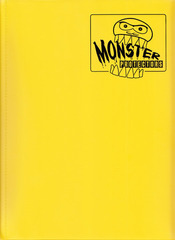 Monster Binder - Matte Yellow