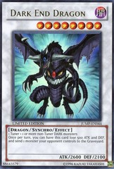 Dark End Dragon - JUMP-EN044 - Ultra Rare - Promo Edition on Channel Fireball
