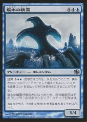 Brine Elemental (Japanese) 18/62 on Channel Fireball