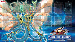 Ancient Fairy Dragon - Ancient Prophecy Sneak Peek Playmat on Channel Fireball