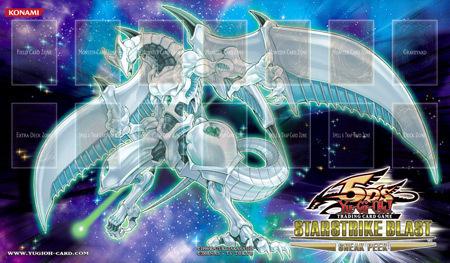 Shooting Star Dragon Starstrike Blast Sneak Peek Playmat