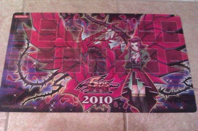 Akiza Izinski Black Rose Dragon Playmat Win A Mat 2010