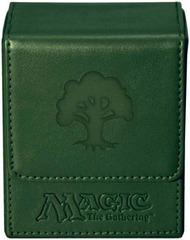 Ultra Pro - Magic Mana Flip Box - Green Mana Symbol