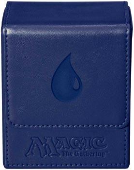 Ultra Pro - Magic Mana Flip Box - Blue Mana Symbol