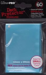 Ultra Pro Light Blue (60) Fitted Vanguard Deck Protectors
