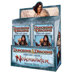 D&D Fortune Cards Neverwinter Display Box 24 Packs
