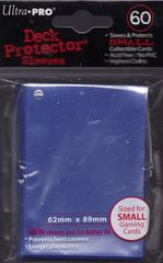 Ultra Pro Blue (60) Fitted YuGiOh Deck Protectors