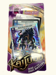 Kaijudo: Rise of the Duel Masters Sonic Blast Competitive Deck on Channel Fireball