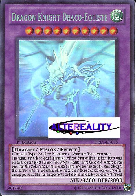Dragon Knight Draco-Equeste - Ghost Rare - DREV-EN038 - Ghost - Unlimited Edition