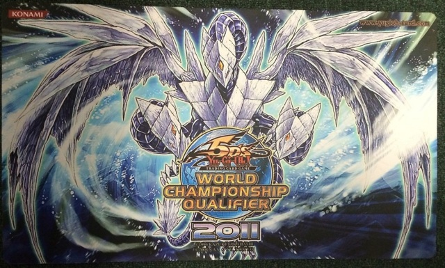 Wcq Top Cut Playmat 2011 Trishula Dragon Of The Ice