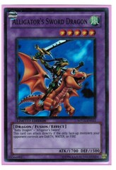 Alligator's Sword Dragon - WP11-EN015 - Super Rare - Limited Edition