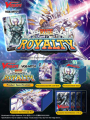 Rise to Royalty (English) Cardfight Vanguard Mega Trial Deck on Channel Fireball
