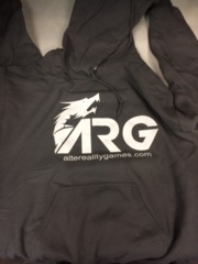 ARG Charcoal Hooded Sweatshirt on Channel Fireball