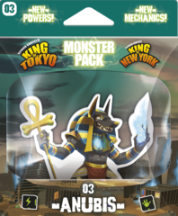 King of Tokyo - Monster Pack #3 Anubis on Channel Fireball