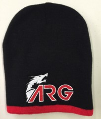 ARG Beenie with Red Trim