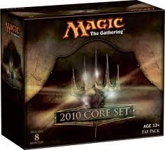 2010 Core Set MTG Fat Pack Box