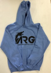 ARG Light Blue (Black Letters) Hooded Sweatshirt on Channel Fireball