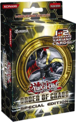 Order of Chaos SE Special Edition Display Box on Channel Fireball
