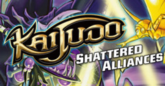 Shattered Alliances Kaijudo Booster Pack on Channel Fireball