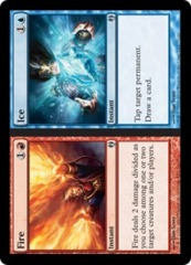 Fire // Ice on Channel Fireball